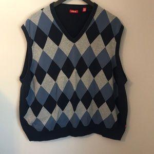 Izod Men's V-Neck Sweater Vest XXXL 3XL